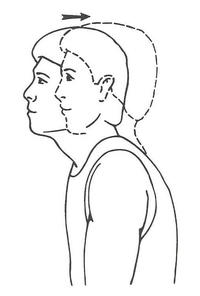 neck retraction exercise